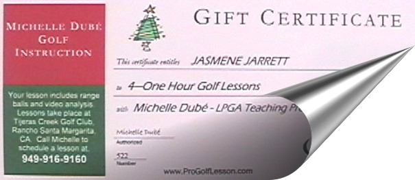 Purchase a Gift Certificate Online Today!
